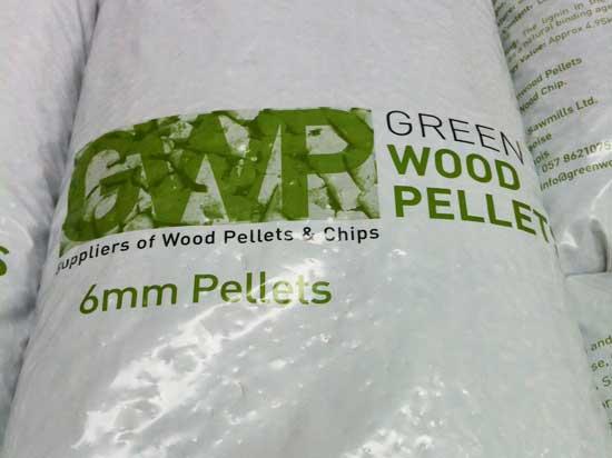 WOOD PELLETS (15kg bags)