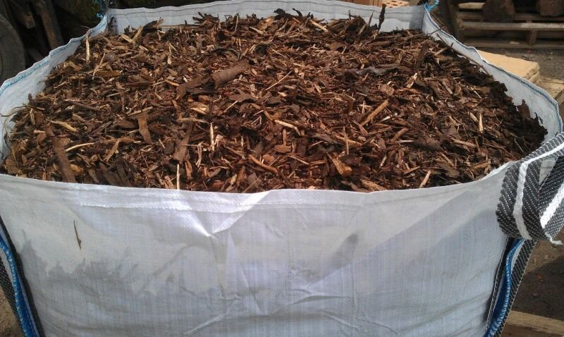 600 kg BAG OF GARDEN BARK MULCH