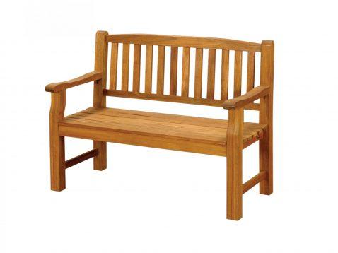 2 seater Turnbury hardwood bench.