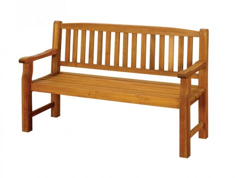 3 seater Turnbury hardwood bench.