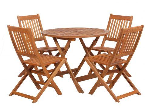 4 seater Manhattan hardwood set