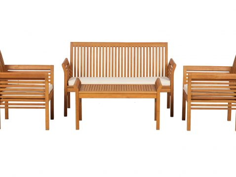 4 seater Manhattan set with cushions