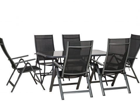 Cayman 6 seater with recliner chairs