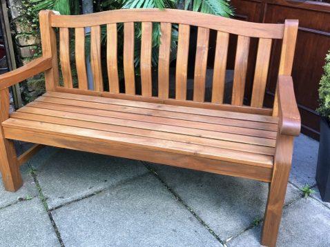 Lytham Hardwood 2 Seater Bench