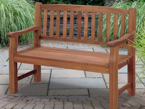 Turnbury 2 Seater Hardwood Bench